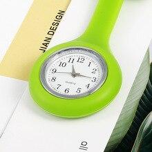 Водонепроницаемые креативные компактные и удобные кварцевые карманные часы для медсестры разные цвета