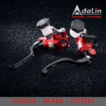 Adelin PX-1 17.5*18MM Brake And Clutch Master Cylinder Universal 17.5MM diameter Piston Motorcycle Hydraulic brake clutch pump mofe products high quality special offer master cylinder 0 75 hydraulic clutch brake bias floor mounted pedal box kit
