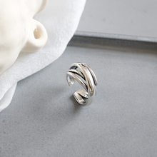 Vintage Multilayer Wrapping Irregular Face Open Ring Ring Female Ring Fashion Open Ring 1pcs(China)