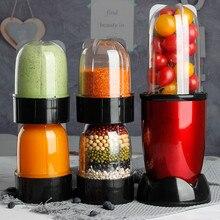 Mini exprimidor eléctrico multifuncional de 220V, máquina exprimidora automática para el hogar, Mini exprimidor de alta calidad con enchufe europeo, australiano, británico y estadounidense