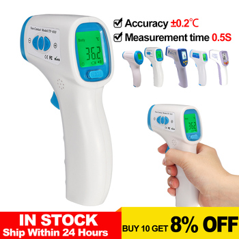 Household Thermometer Adult Baby Infrared Rapid Measurement Body Temperature Accurate Without 0.2c 24Hours Delivery Non-Contact