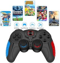 Wireless Switch Pro Controller Gamepad Joypad Remote Joystick for Nintendo Switch NS Lite Console Gyro Axis Turbo Dual Vibration