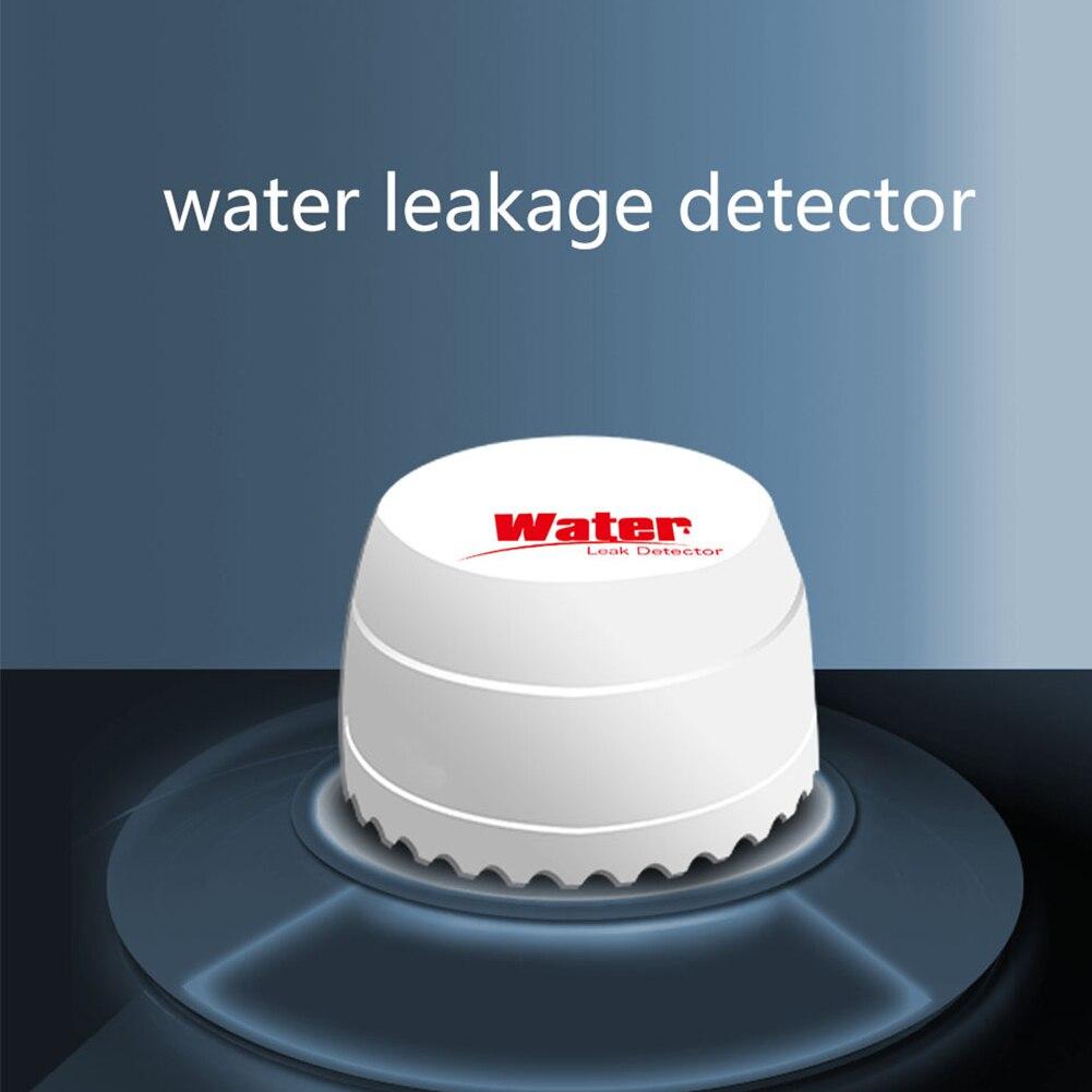 Independent Sensor Alarm System Water Leak Detector ABS Flood Home Security Warning Smart Alert Sensitive Overflow Wireless