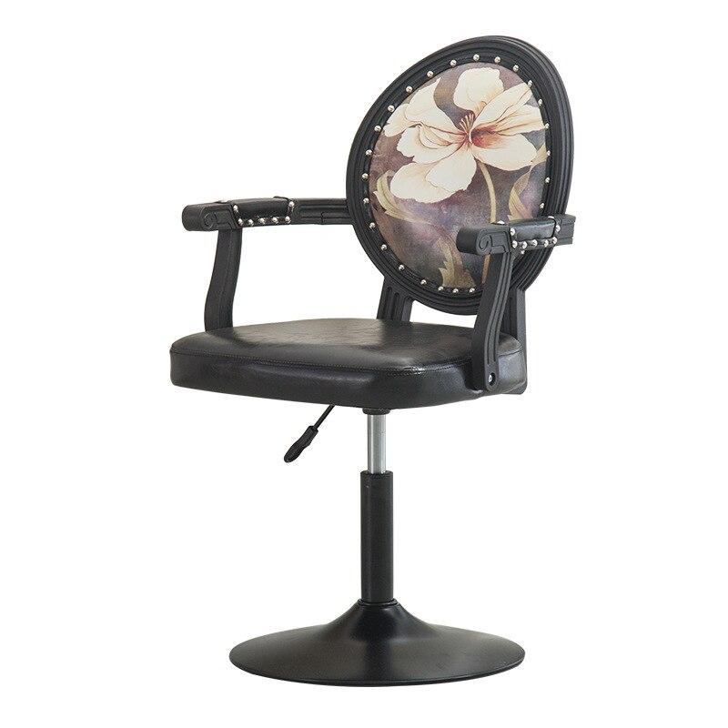 European Bar Chair, Bar Chair, Swivel Lift Backrest, Chair, Manicure Chair, Beauty Bar Chair, High Foot Bar Stool, Special Price