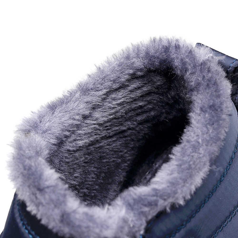 2019 yeni kış kadın çizmeler yüksek yardımcı olmak için sıcak ve kadife kar botları su geçirmez hafif çift modelleri kışlık botlar