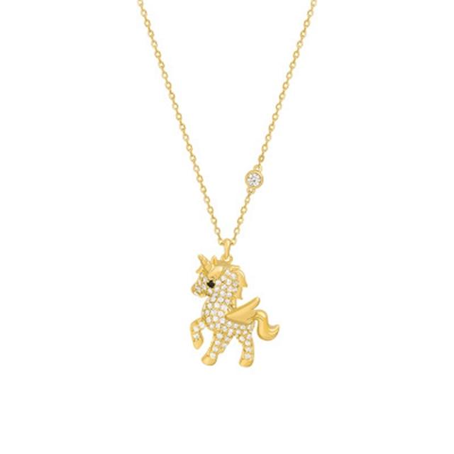 Romad индивидуальное простое ожерелье с кулоном в виде животного