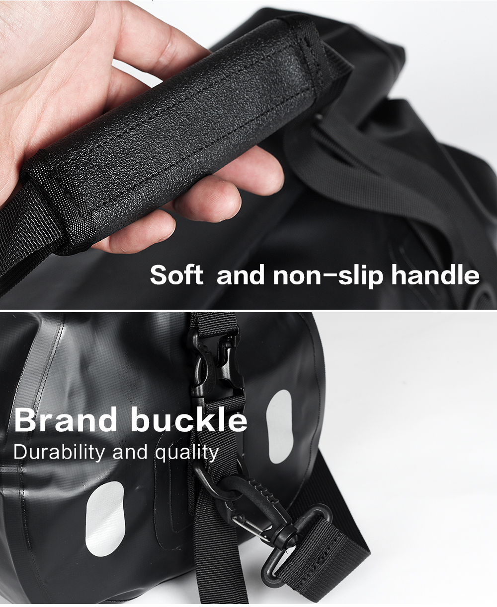 Rhinowalk Bicycle Luggage Bags 20L Full Waterproof for Road Bike Rear Rack Trunk Cycling Saddle Storage Pannier Multi Travel Bag (16)