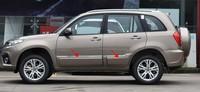 Auto Deur Anti-Wrijven Anticollision Bumper Strip Wrijven Strip Voor 2014-2016 Voor Chery Tiggo 3