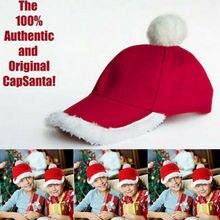 Красная бархатная шляпа Санта-Клауса для рождественской вечеринки, Красная белая декоративная крышка, костюм Санта-Клауса для детей и взрослых, рождественские подарки на год