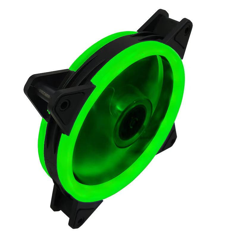 Case Fan  120mm 3pin Colorful Blue Red White Green  Bearing LED Computer Cooling Fan Radiator Ventilador 5