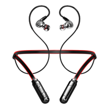 Newest Bluetooth Earphone V5.0 Wireless Headphones 3D Stereo Sport Earbuds Neckband Earphone With Microphone For All phone