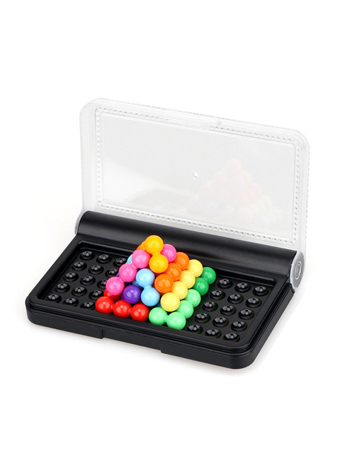 Montessori Educational Toys For Children Mastermind Game Code Breaking Mini Board Toy For Family Traveling Toy Parchis 2