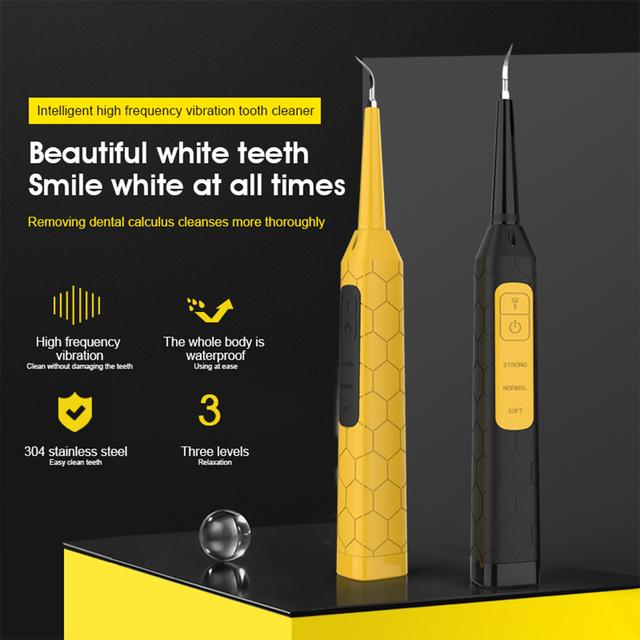 Elektryczny Sonic skaler dentystyczny wyświetlacz LED ząb Calculus Remover Cleaner przebarwienia na zębach tatar narzędzie wybielić zęby tatar narzędzie tanie i dobre opinie iDestone CN (pochodzenie) Elektryczny irygator do jamy ustnej dla dorosłych Electric dental scaler set akumulator Teeth Whitening