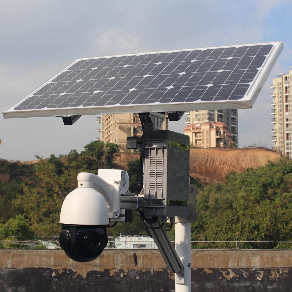 1080 p sony estrela luz solar câmera 4g 3g sim slot para cartão de segurança ao ar livre cctv sem fio wifi ip ptz com 64g cartão de gravação