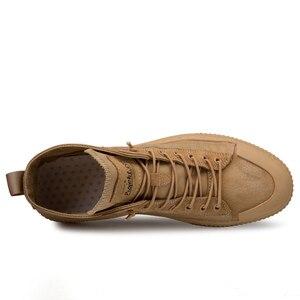 Image 2 - 2020 חדש נעלי גברים נעליים יומיומיות גבוהה למעלה סניקרס גברים גופר נעלי פלטפורמת סניקרס באיכות גברים של סניקרס Masculinas מגפיים