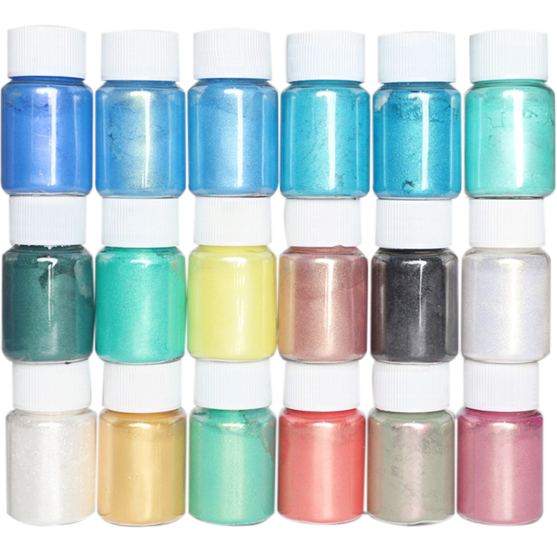 New DIY Slime Glitter Powder Filler Kits Pigment Decoration Plasticine Supplies Slimes Fluffy Glue Educational Toys For Children