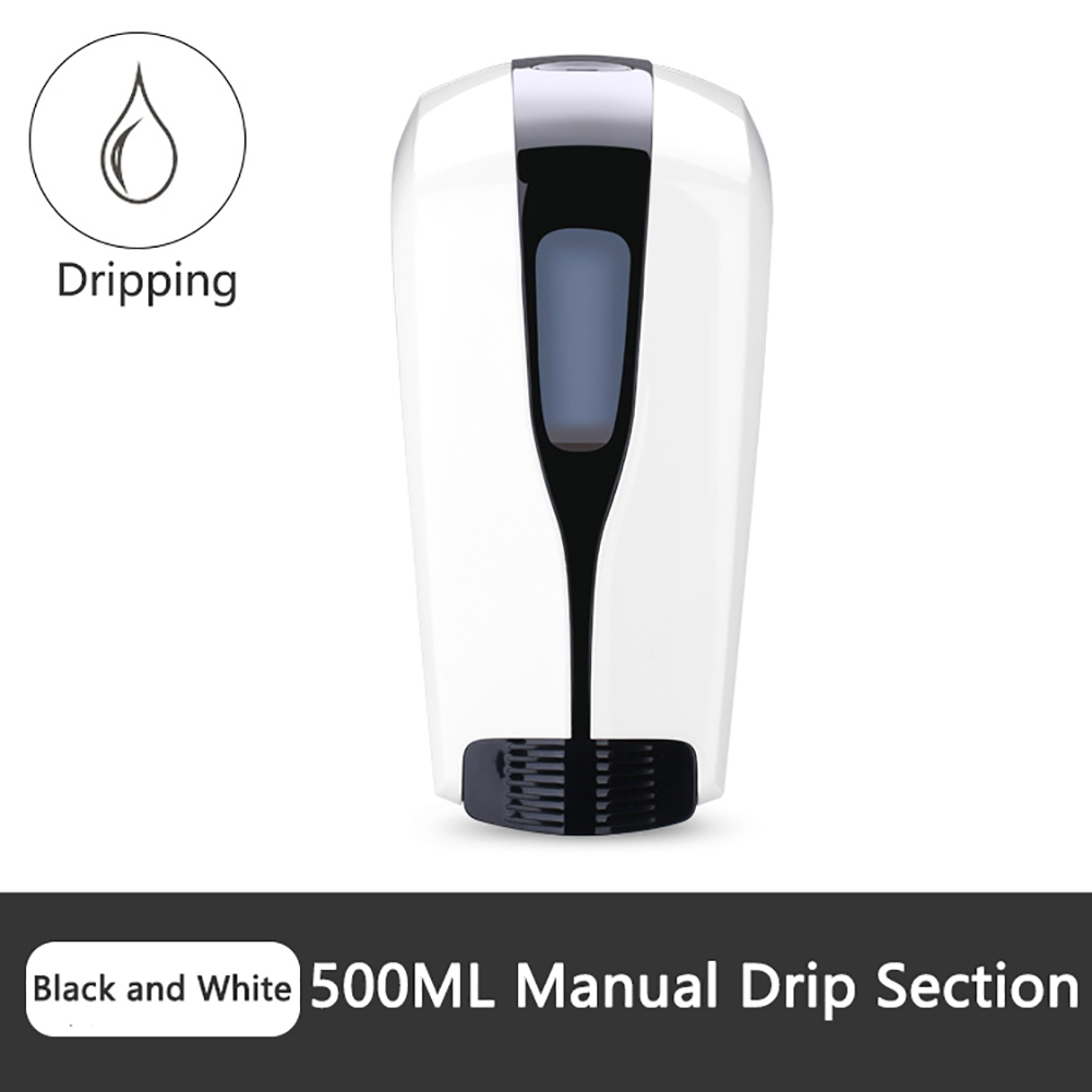 500/1000ml Wall-Mounted Soap Dispenser Press Type Hand Disinfection Machine Alcohol Sterilizer Home Hand Sanitary Soap Dispenser