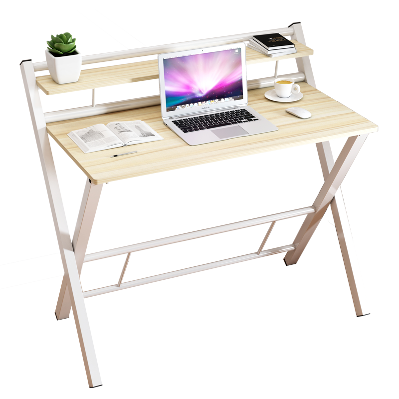 Simple household desktop computer table simple desk portable folding table bedside table small table notebook study table