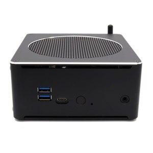 Image 2 - Topton Mini PC Intel Xeon E3 1505M v5 4 Core 8 Threads 2.80 GHz Desktop Computer Win10 Pro 16GB DDR3L AC Wifi 4K Mini DP HDMI