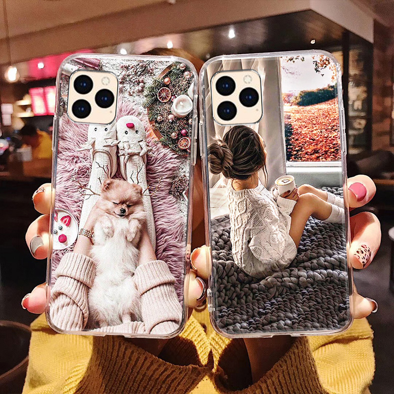 Cute Cartoon Case For Iphone 12 11 Pro Max Mini Cases Silicon Phone Fundas For Iphone 7 8 XR X XS 6 6S Plus SE 2020 5 5S Covers