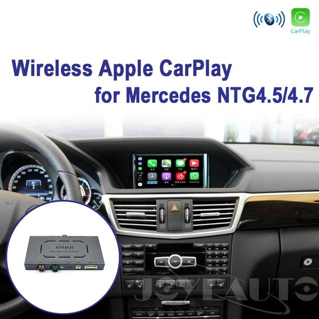 Joyeauto WIFIไร้สายApple CarPlay Android AutoกระจกA B C E G GL ML Class Mercedes NTG4.5 4.7 รถเล่นAirPlay iOS 13