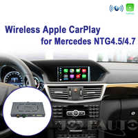 Joyeauto WIFI Wireless Apple Carplay Android Auto Mirror A B C E G GL ML Class For Mercedes NTG4.5 4.7 Car Play Airplay iOS 13