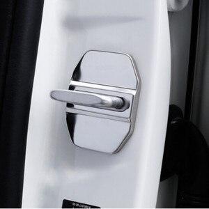 Image 1 - 4 قطعة لمرسيدس بنز AMG شعار سيارة الباب قفل غطاء شارة شعار كاب ل GLA SLK CLA CLK GLB GLC GLE GLK GLS GL CLS اكسسوارات