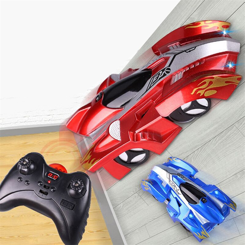 Children RC Wall Climbing Mini Car Toy Model Bricks Wireless Electric Remote Control Drift Race Toys for Baby Kids(China)