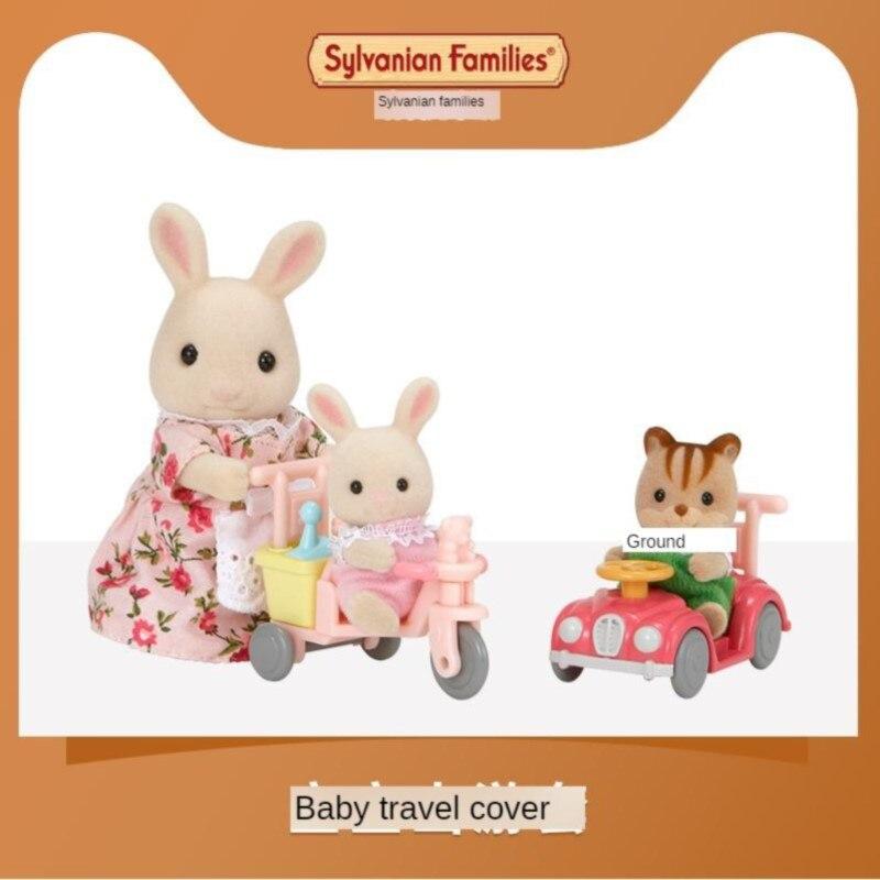 Sylvanian juguetes de familia Sylvanian familias bebé salida caso-chica jugar muñeca 5040 - 2
