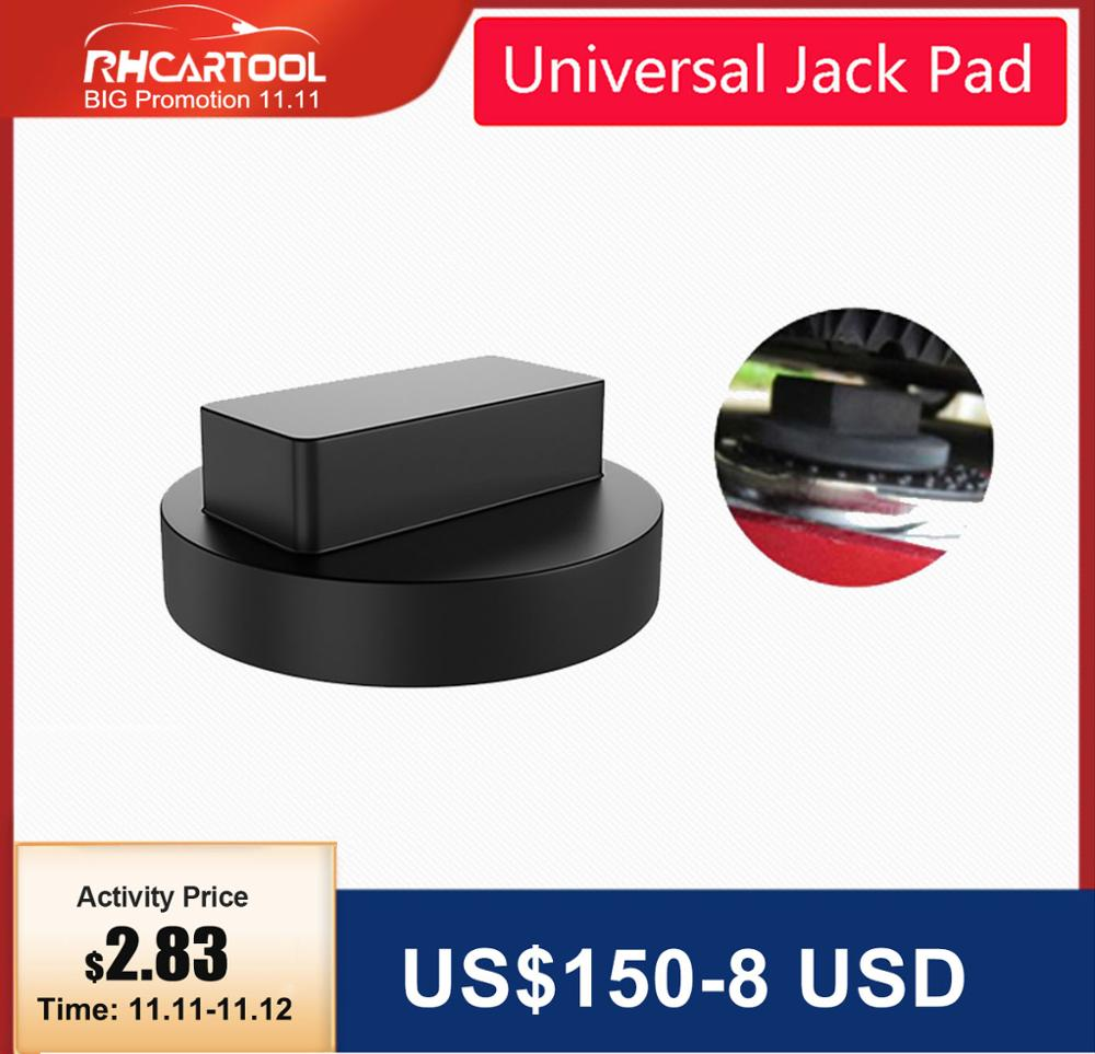 Frame Rail Protector Support Stand Rubber Block Protects Car from Scratches Black IWILCS Jack Pad 2 Pieces Car Jack Rubber Pad
