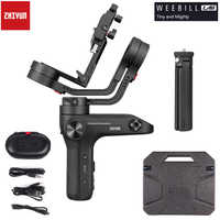 Zhiyun Weebill LAB 3-Axis Image Transm Camera Handheld Gimbal Stabilizer for Almost All Mirrorless Cameras Maxload 3Kg with OLED