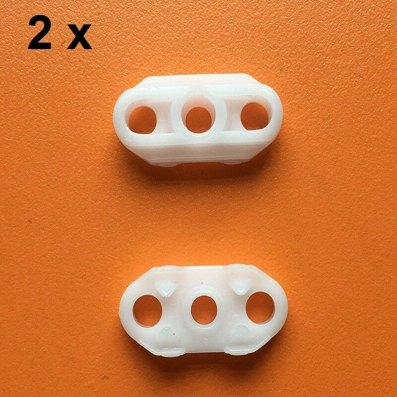 4PCS FOR OPEL VAUXHALL WINDOW REGULATOR REPAIR KIT CLIPS REAR-LEFT&RIGHT