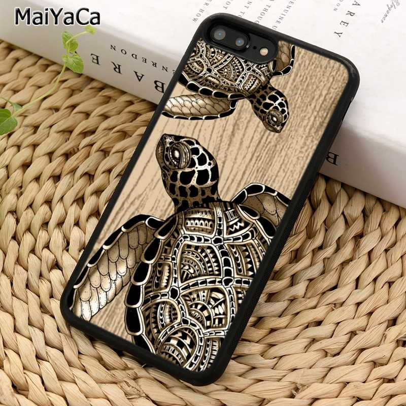 Maiyaca Sea Turtle Telefoon Case Voor Iphone 5 6 7 8 Plus 11 Pro X Xr Xs Max Samsung Galaxy s7 S8 S9 S10
