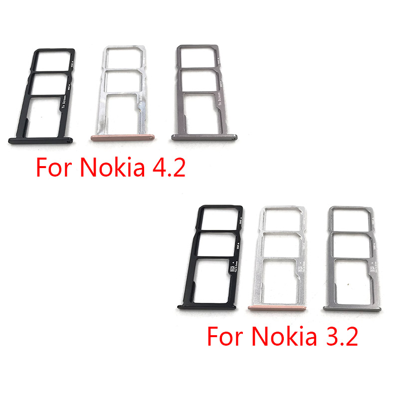 SIM Card Tray Slot Holder Replacement Part For Nokia 3.2 4.2