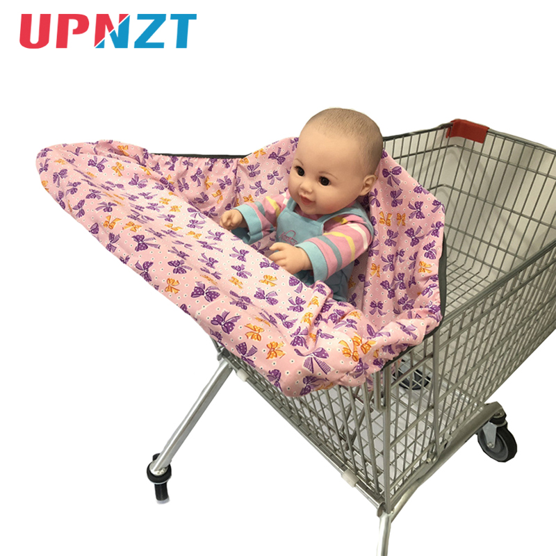 Universal Baby Kids 2-IN-1 Shopping Cart Cover HighChair Cover For Toddler Cover Restaurant Highchair Dinosaurs Cheaper