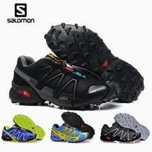 Salomon Speed Cross 3 CS cross-country running shoes Men Brand Sneakers Male Athletic Sport Shoes Speedcross Fencing Shoes salomon кроссовки shoes speedcross vario gtx bk radiant r