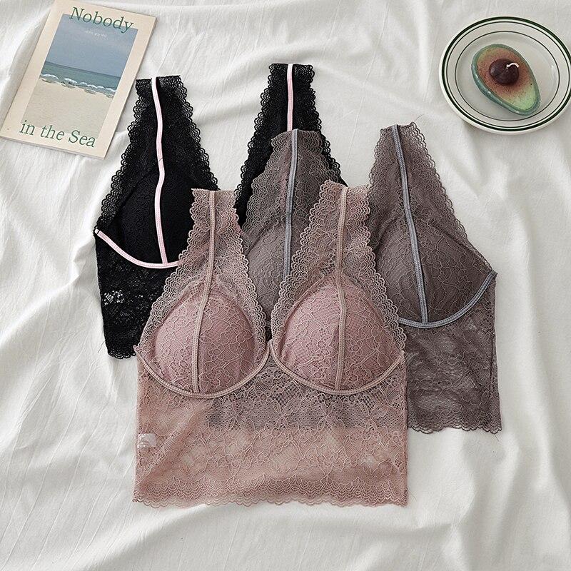Кружевной бюстгальтер без ободка, с подкладкой, сексуальный красивый точечный пояс, жилет, нижнее белье, Модное Новое
