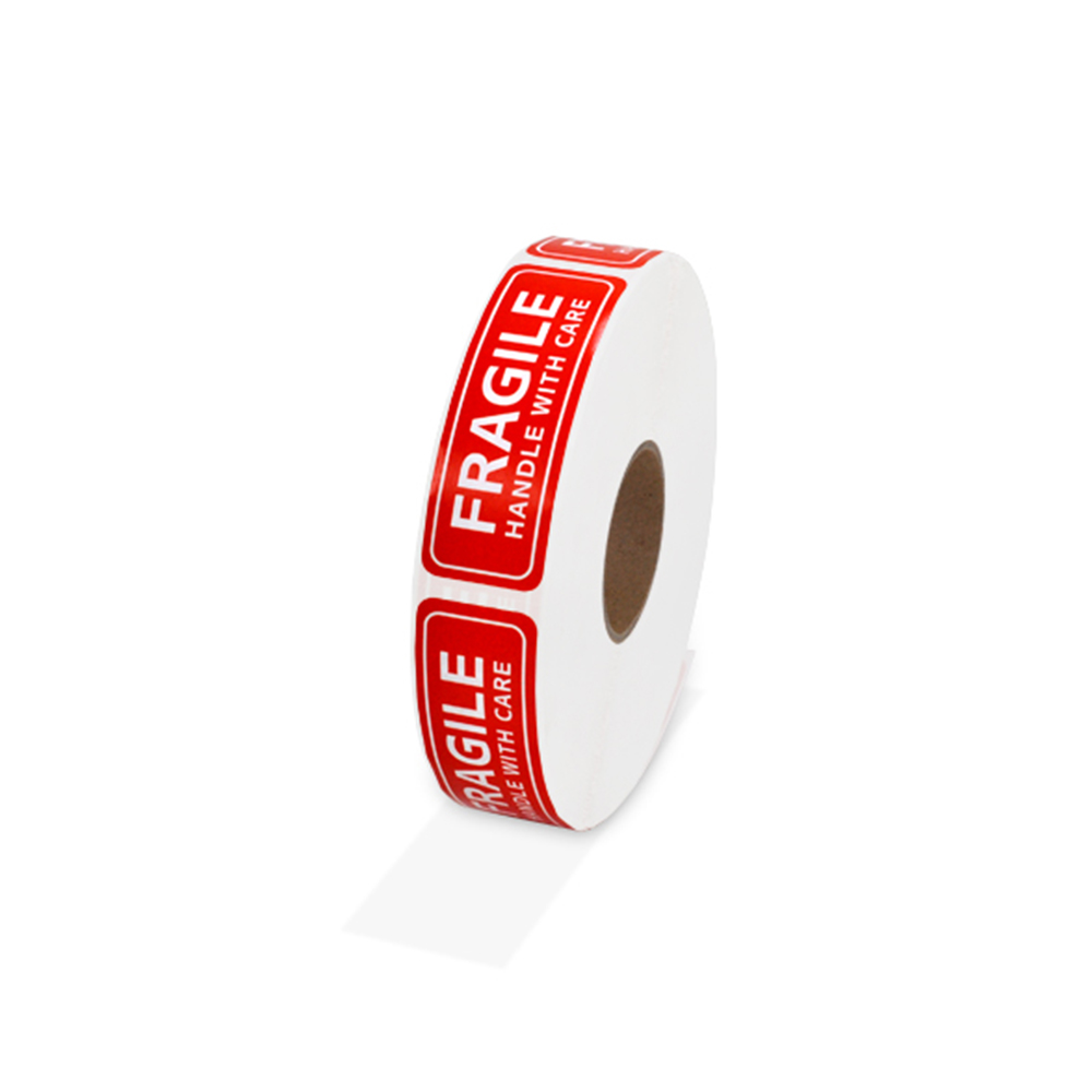 High Quality 1 Roll/1000Pcs 1x3inch Fragile Warning Sticker Handle With Care Keep Dry Shipping Express Label|Home Office Storage| |  - title=