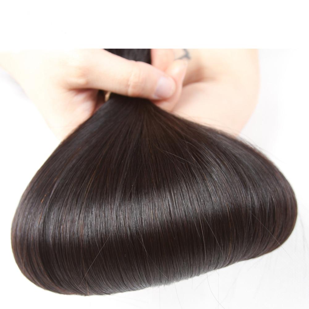 ストレートヘア 3 バンドル Vietnames 人毛織りバンドルダブル横糸毛束非レミー人間の髪織り  グループ上の ヘアエクステンション & ウィッグ からの 3/4 バンドル の中 2