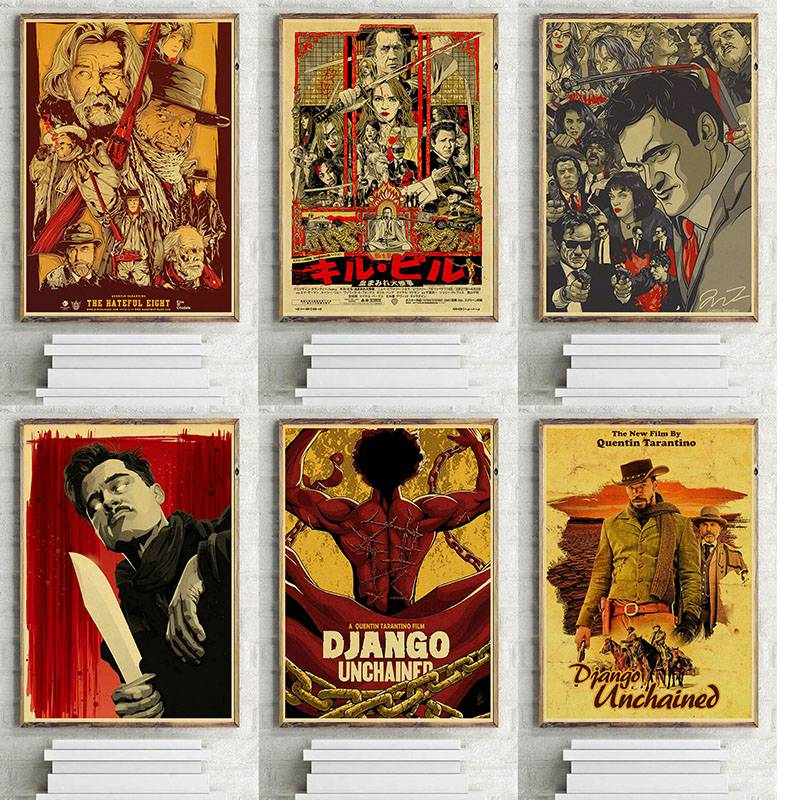 quentin-font-b-tarantino-b-font-series-movie-vintage-poster-kraft-paper-high-quality-print-wall-art-painting-home-decor