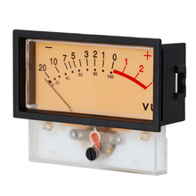 Audio DB Level Portable Mixer Power Discharge Indicator With Frame VU Meter Panel High Accurate Small Backlight Tools Stable