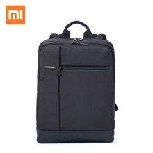 원래 xiaomi 배낭 클래식 비즈니스 대용량 학생 가방 남성 여성 배낭 맥북 14 15 15.6 인치 노트북 가방