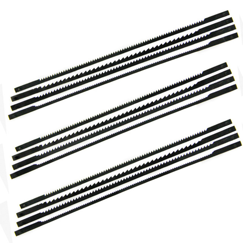 12PCS SCROLL SAW BLADE 125 MM 10TPI Cutting Tools For 16inch Scroll Saw