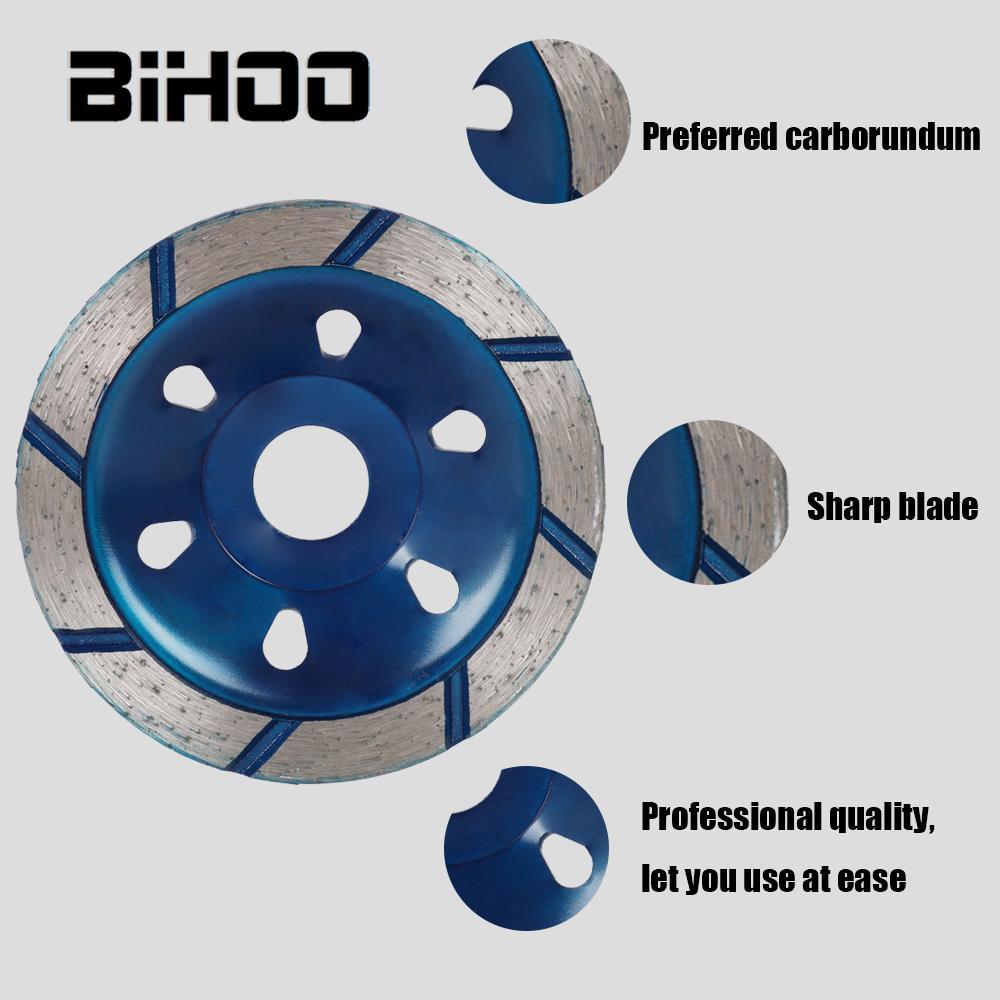 100mm Diamond Grinding Wheel Disc Bowl Shape Grinding Cup Concrete Granite Stone Ceramic Cutting Disc 1Pc