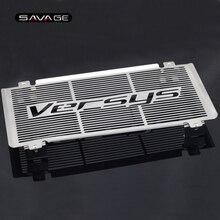 Capa de proteção para grade de radiador, capa de proteção para kawasaki kle 650 versys kle650 2009 2014 10 11 12 13, acessórios para motocicleta, tanque rede protetora