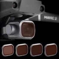 Filtro de lente para cámara DJI MAVIC 2 PRO, conjunto de filtros UV CPL ND ND16 ND32 ND4 ND8 para Mavic 2 pro, accesorios para Dron