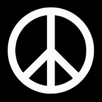 Peace Sign Symbol Car Vehicle Body Window Reflective Decals Sticker Decoration Car Exterior Accessories 2019 New Funny Sign 4