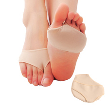 2Pcs/1Pair Thickening Soft Flip Medical Silicone Invisible High-heeled Shoes Pads Slip-resistant Half Yard Forefoot Pad C606