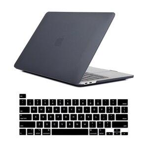 Image 3 - לניו Macbook Pro 16 2019 מקרה A2142 דגם מגע מזהה & מגע בר מחשב נייד שרוול מקרה עבור Mac ספר פרו 16 אינץ מקלדת כיסוי