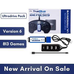 Image 1 - HOBBYINRC 813 Games True Blue Mini Ultradrive Pack for Genesis / for MegaDrive Mini 2019 New Arrival 2 player Games
